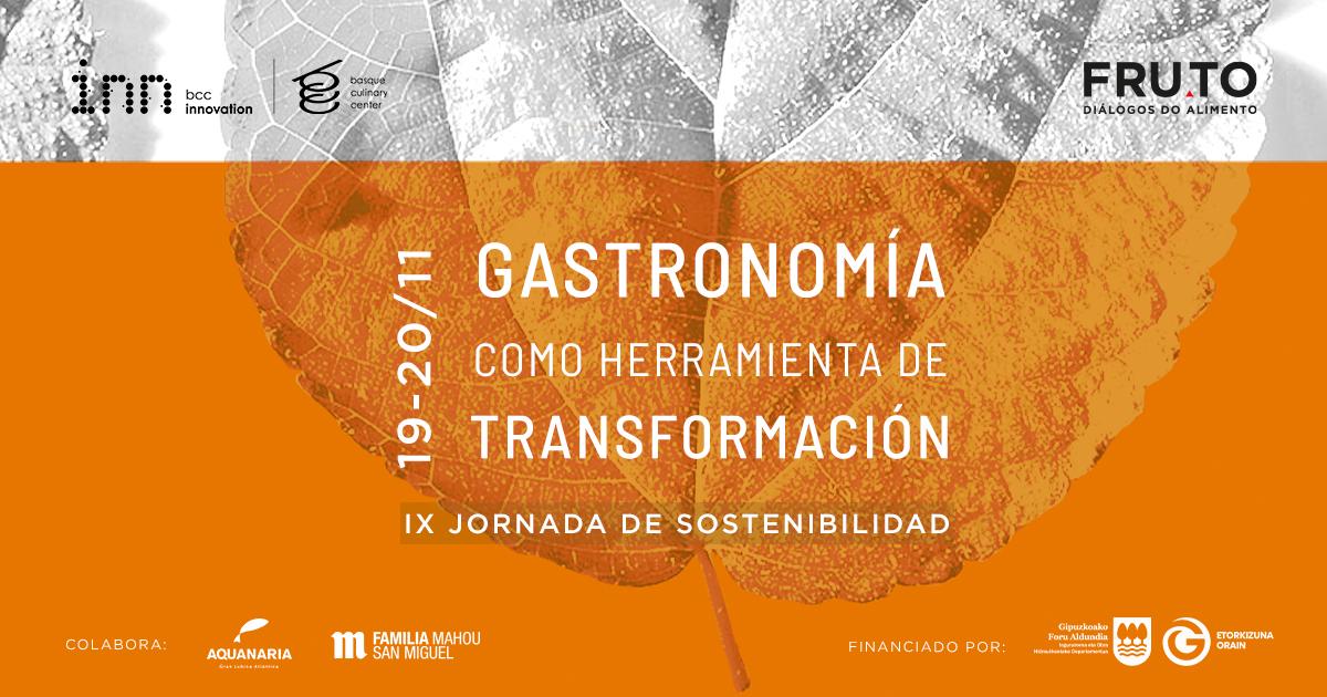 Jornada internacional: el impacto de la Gastronomía en materia de Sostenibilidad