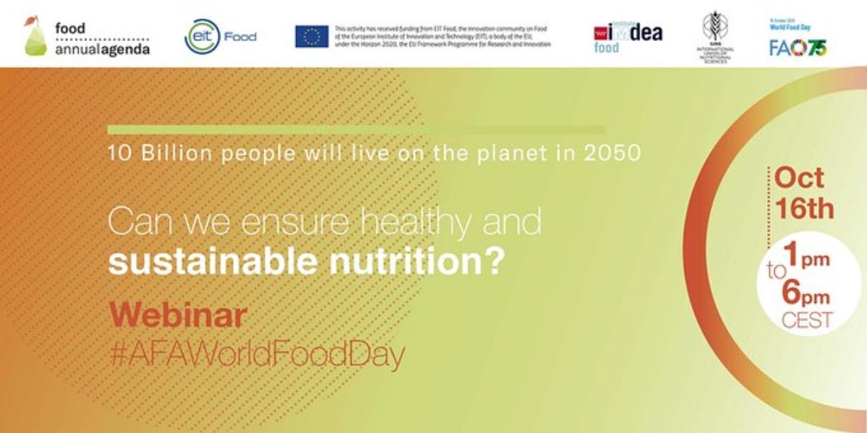 ¿Podemos asegurar una nutrición sostenible y saludable? BCC Innovation participamos en el webinar de IMDEA e IUNS
